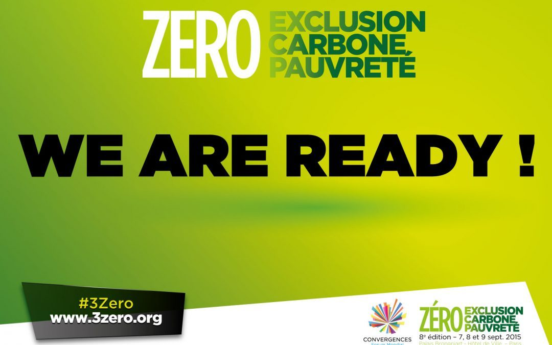 Zéro exclusion, Zéro carbone, Zéro pauvreté