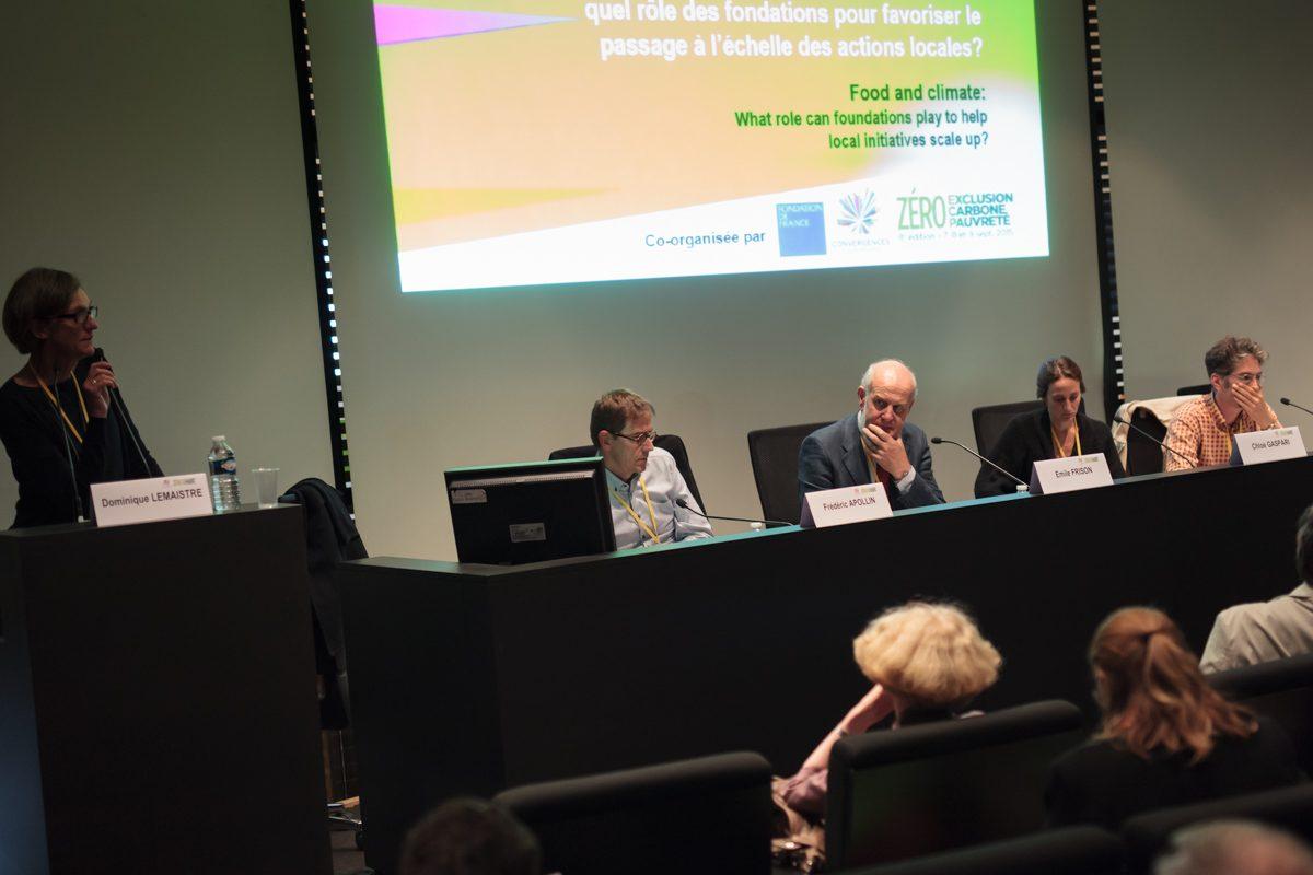 Alimentation et climat : quel rôle des fondations pour favoriser le passage à l'échelle des actions locales ?