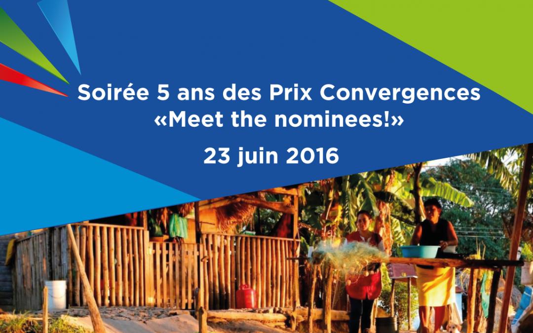 5 ans des Prix Convergences : une soirée spéciale pour annoncer les lauréats 2016