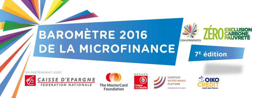 07/07 – Dossier de presse – Baromètre 2016 de la microfinance