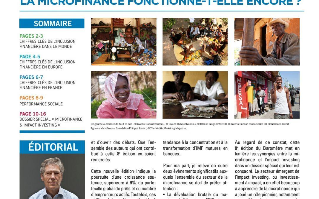 La Microfinance fonctionne-t-elle encore ? Baromètre 2017