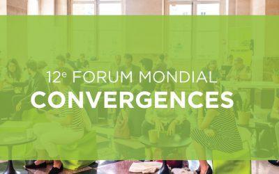Communiqué de presse – Forum Mondial Convergences 2019