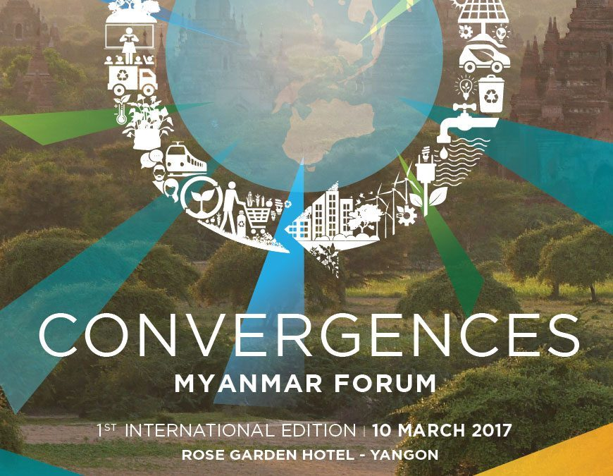 Press release | Convergences is bringing together actors from all sectors for Myanmar's sustainable development