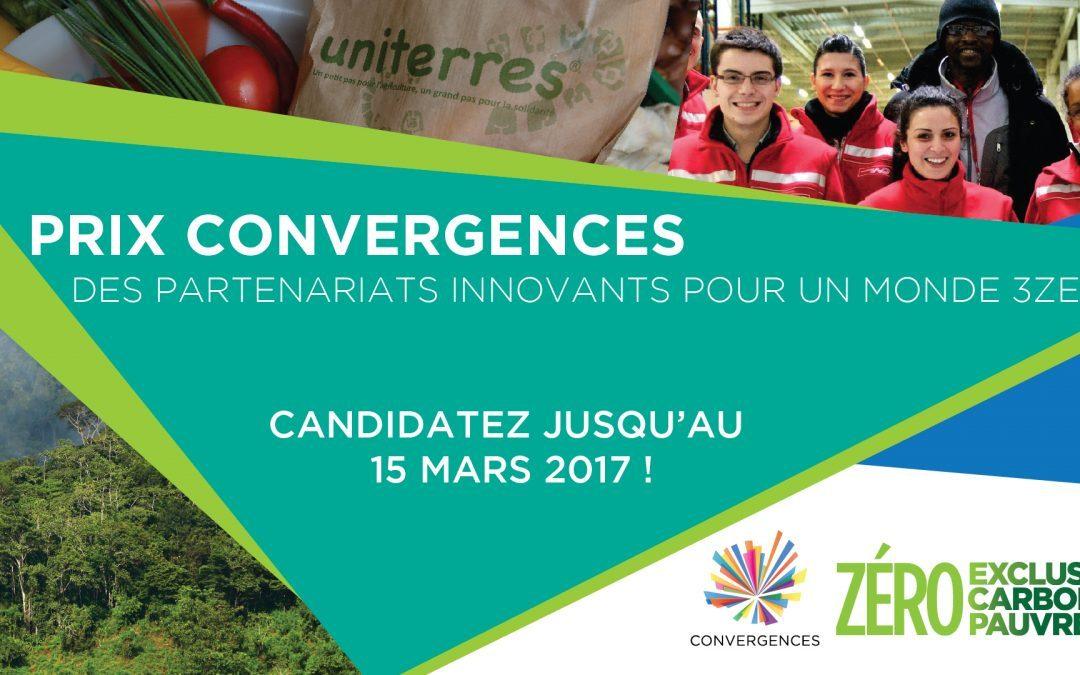 Candidatez au Prix Convergences 2017 !
