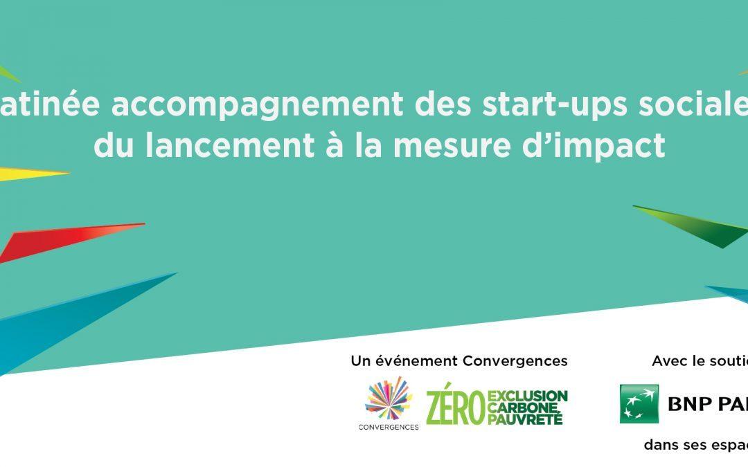 Le 20 juin, rendez-vous à notre matinée «Accompagnement des start-ups sociales» !