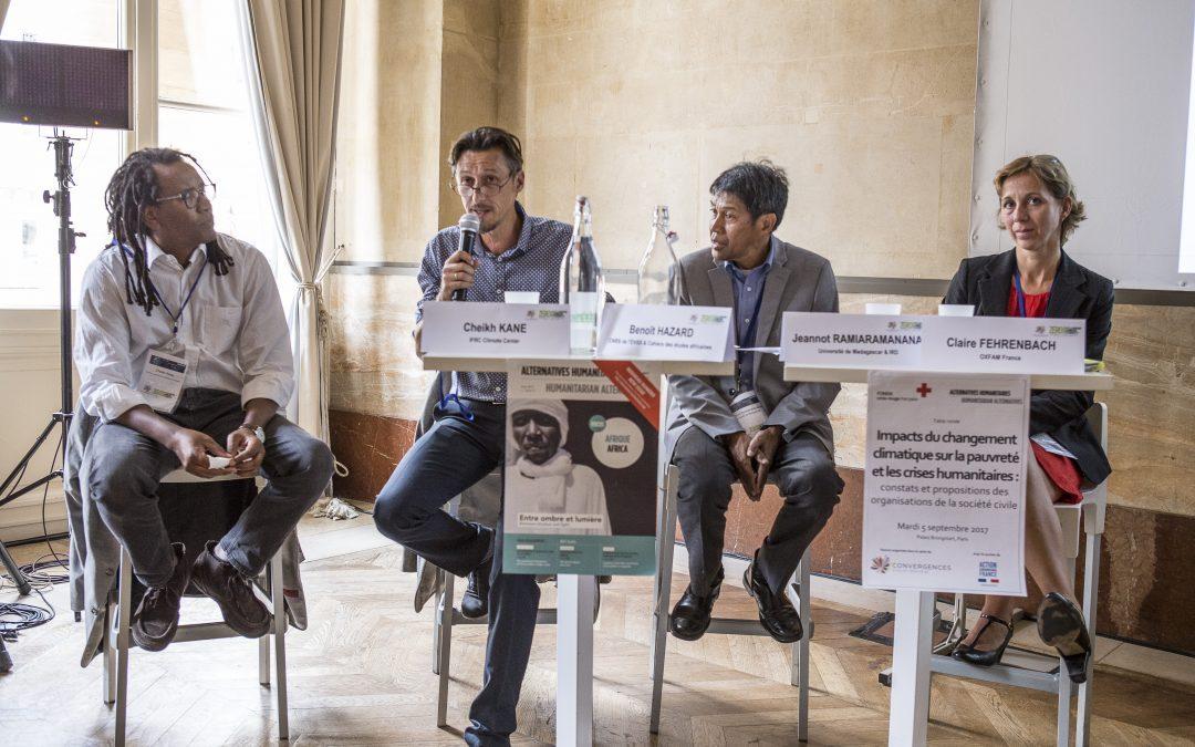 Impacts du changement climatique sur la pauvreté et les crises humanitaires : constats et propositions de la société civile