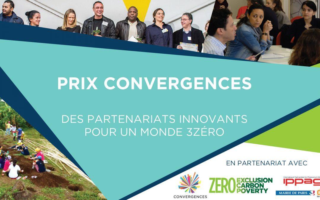 10 à 15 000€ pour des partenariats innovants avec les Prix Convergences 2018