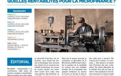 Communiqué de Presse – Baromètre de la Microfinance 2018