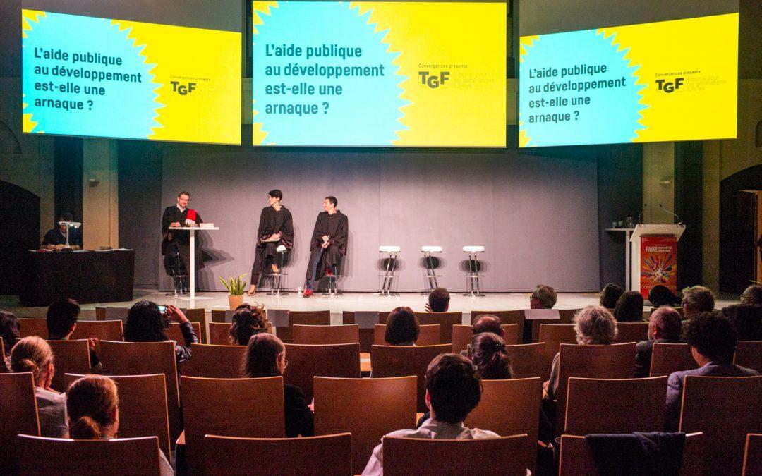 [Retour sur la 11e édition du Forum Mondial Convergences] Ouverture : TGF – l'aide publique au développement est-elle une arnaque ?