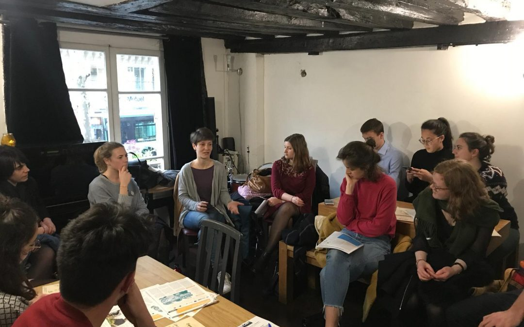 Retour sur l'Apéro Youth We Can! du 10 avril 2019 – S'engager pour le climat