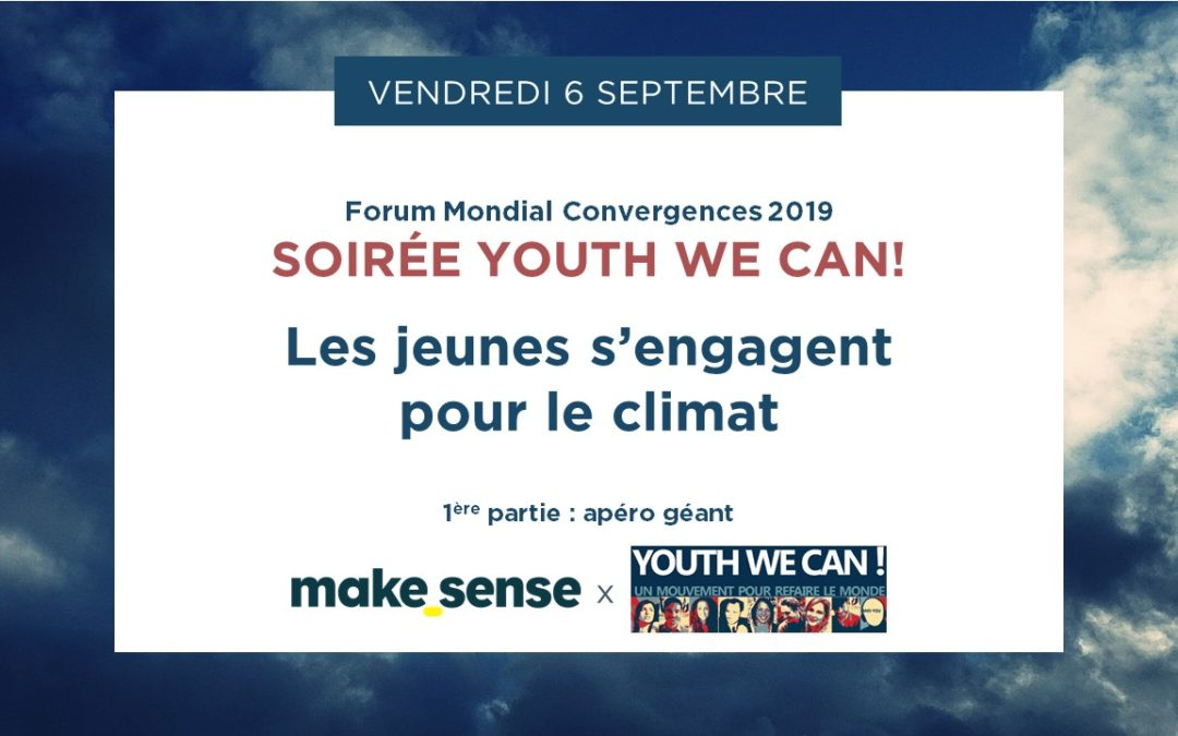 Youth We Can! Night : Youth commit for climate and the environment