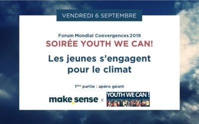 Une soirée autour de l'engagement des jeunes pour le climat avec Youth We Can!