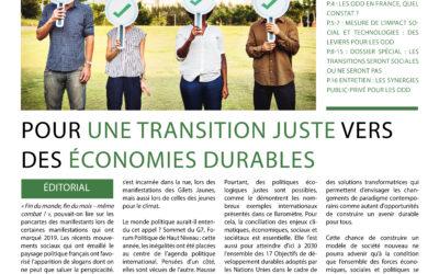 Communiqué de presse – Baromètre des Solutions Durables 2019