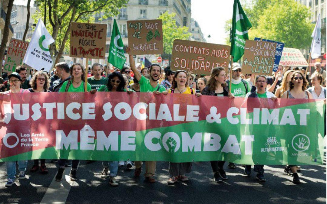 LA TRANSITION CLIMATIQUE SERA SOCIALE OU NE SERA PAS