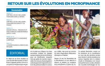 Communiqué de presse – 10e Baromètre de la Microfinance