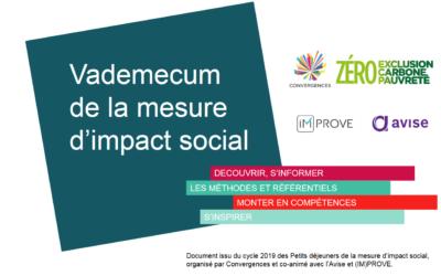 Vademecum de la mesure d'impact social : s'orienter vers les bons outils