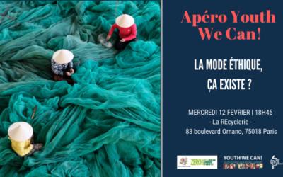 Retour sur l'Apéro Youth We Can! du 12 février 2020 : La mode éthique, ça existe ?