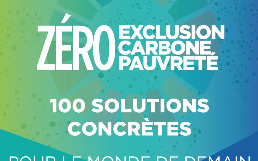 [Publication] Convergences propose 100 Solutions Concrètes pour le Monde de Demain
