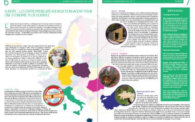 Europe : les entrepreneurs sociaux s'engagent pour une économie plus durable